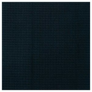 An example image of a fabric swatch - Black Towel (waffle side)
