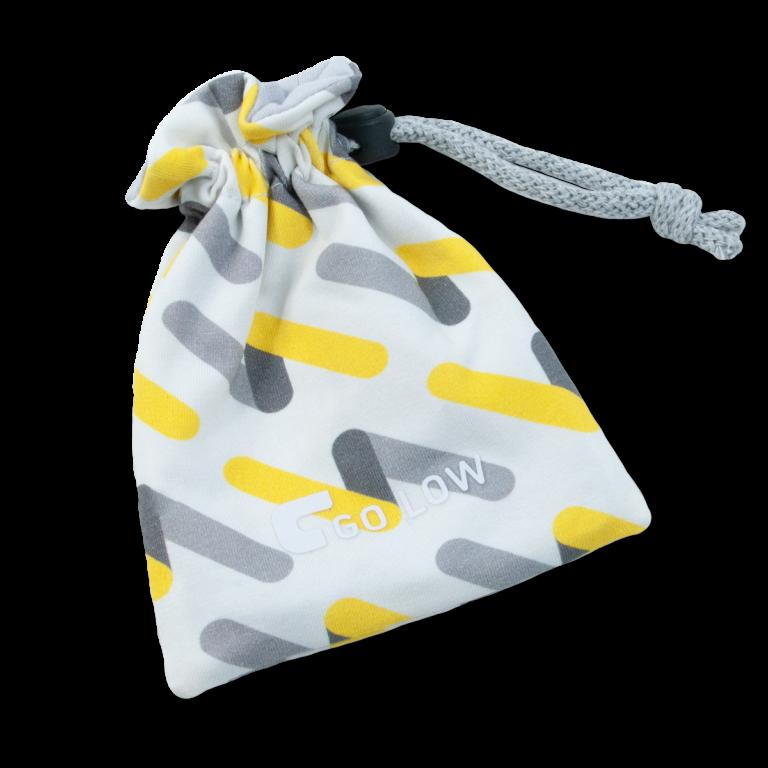 An example of a go low custom golf bag