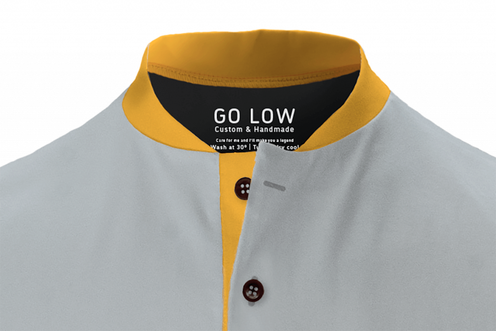 Image of low profile collar